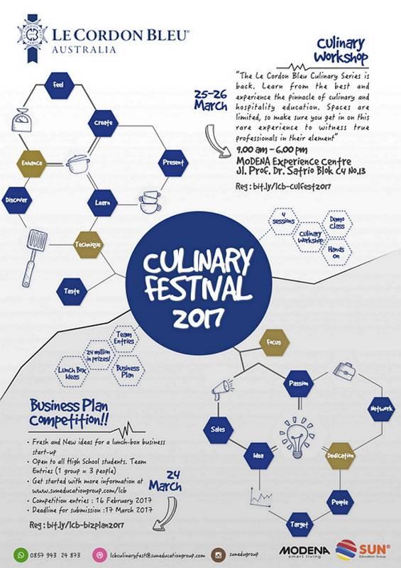 Le Cordon Bleu Culinary Workshop 2017 @ MODENA Experience Centre | DKI Jakarta | Indonesia