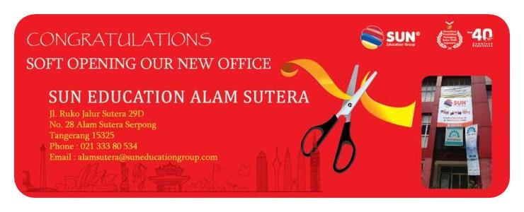 SUN Education Branch of Alam Sutera