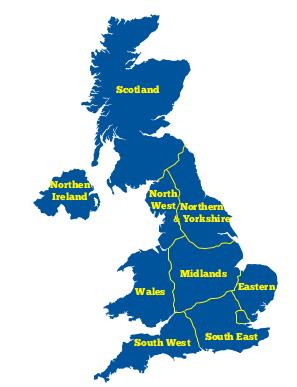 Lokasi Negara Inggris
