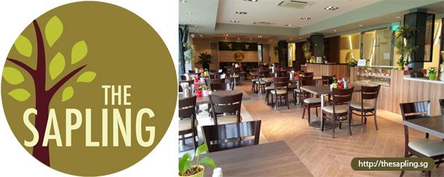 The Sapling Restoran Baru oleh SHATEC