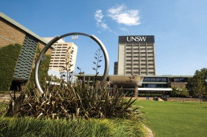 """Figure 2. UNSW is oen fo the location for a Bollywood movie """"From Sydney With Love"""". Source: UNSW"""