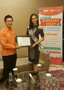 CMO Sun Education Group Kevin Tan with Felicia Hwang - Runner Up Puteri Indonesia Talking About Education