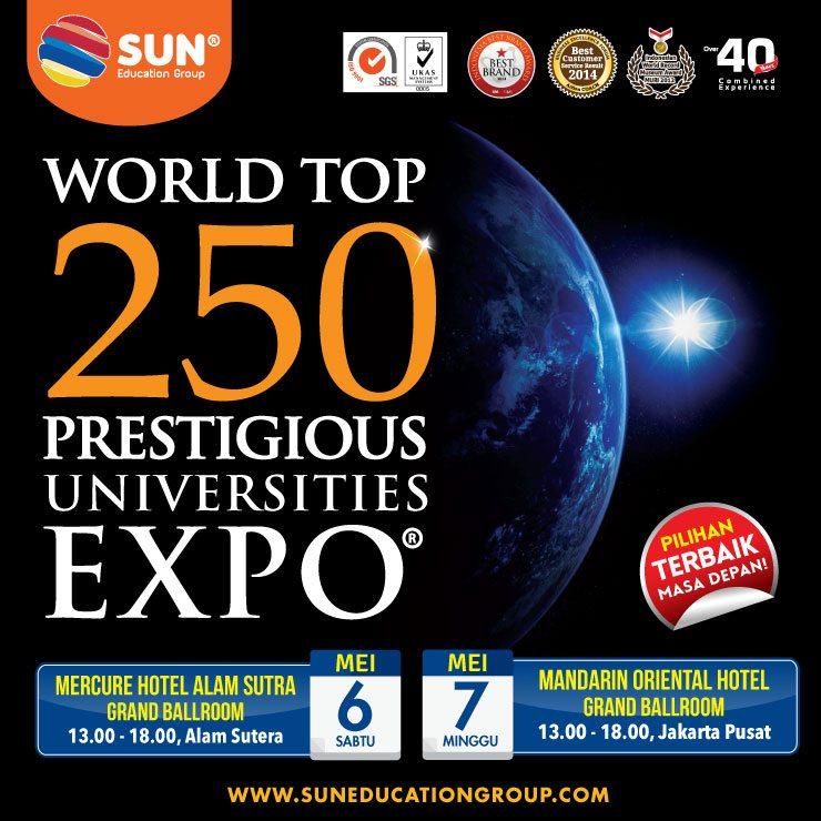 World Top 250 Education Expo 2017 @ Hotel Mercure Alam Sutera | Banten | Indonesia