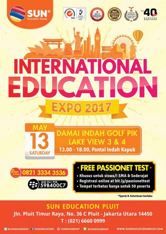 [:in]International Education Expo 2017[:] @ Damai Indah Golf PIK Lake View 3 & 4 | Daerah Khusus Ibukota Jakarta | Indonesia