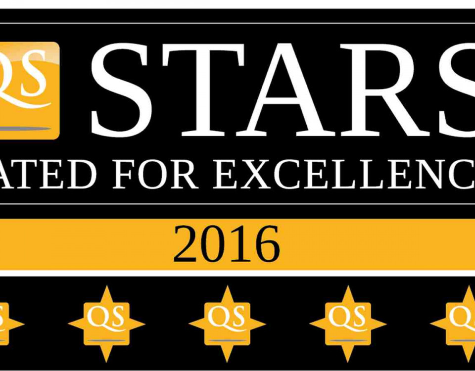 5 Stars of Excellence Business School at Victoria University