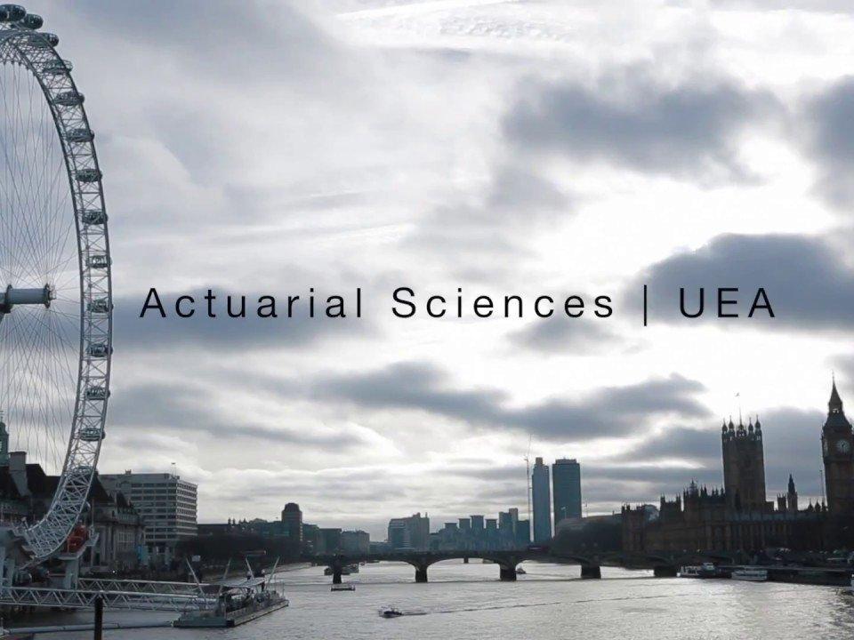 Belajar Actuarial Science di University of East Anglia