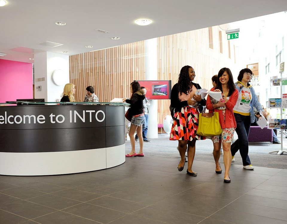 Get In To UK Universities with INTO Study