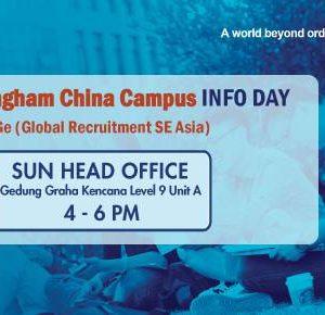 university of nottingham china campus info day