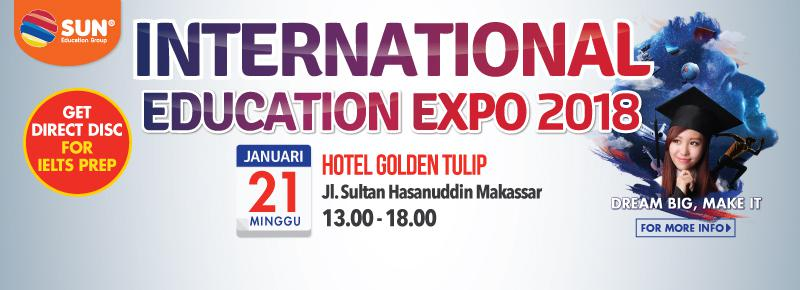 International Education Expo Makassar 2018