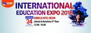 International Education Expo Medan 2018