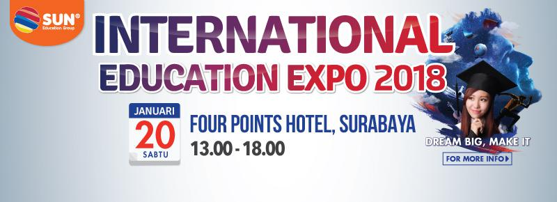 International Education Expo Surabaya 2018