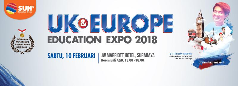 UK and Europe Education Expo Surabaya
