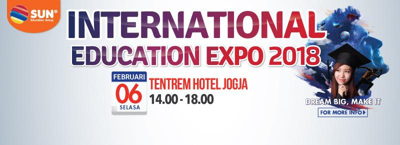 International Education Expo Yogyakarta 2018