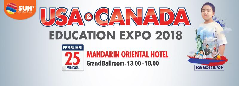 US and Canada Education Expo 2018