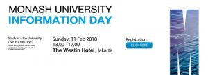 Monash University Info Day 2018