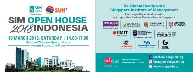 SIM Open House 2018