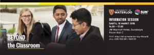University of Waterloo Info Session Surabaya 2018