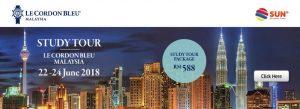 Study Tour Le Cordon Bleu Malaysia 2018
