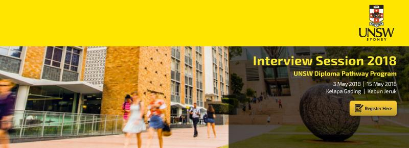 UNSW Interview Session 2018