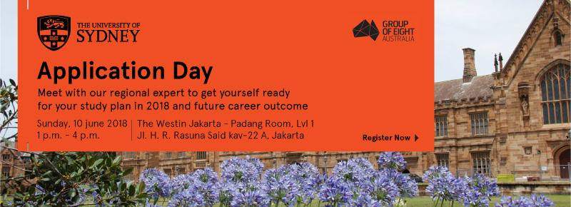 University of Sydney Application Day 2018