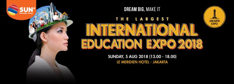 International Education Expo Jakarta 2018