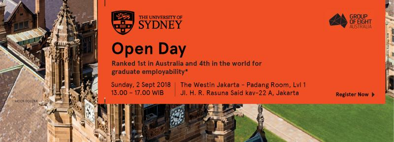 University of Sydney Open Day 2018