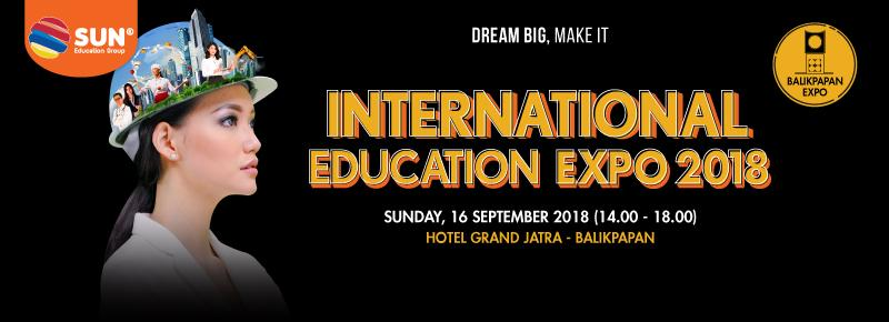 International Education Expo Balikpapan 2018