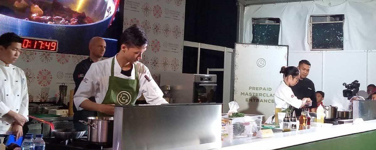 Kemeriahan The Chef Hunt