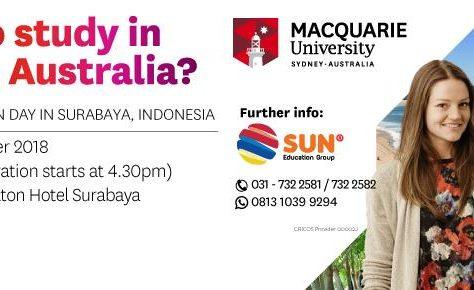 Macquarie University Open Day 2018