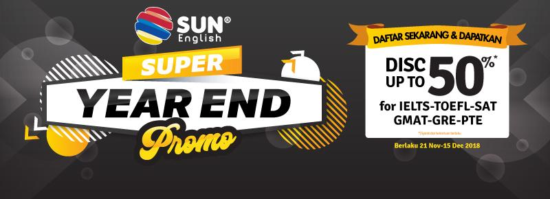 SUN English Year End Promotion