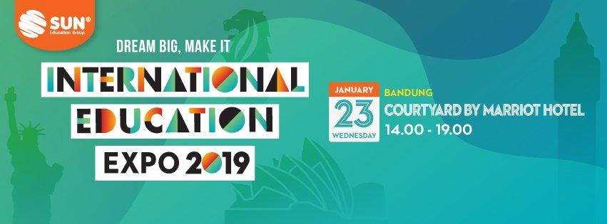 International Education Expo Bandung 2019