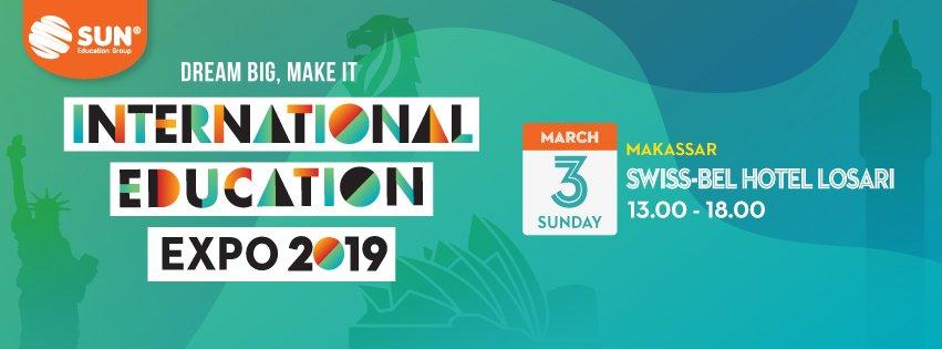 International Education Expo Makassar 2019
