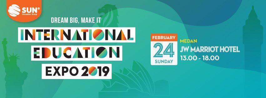 International Education Expo Medan 2019