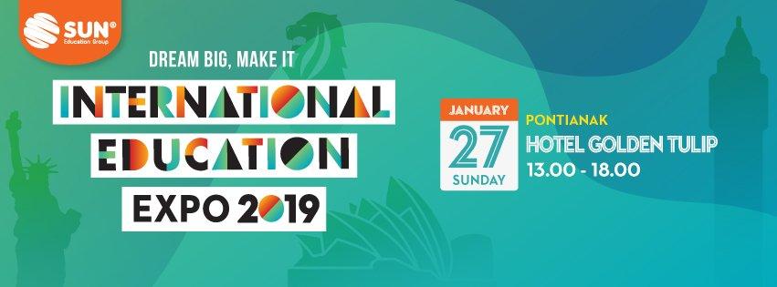 International Education Expo Pontianak 2019