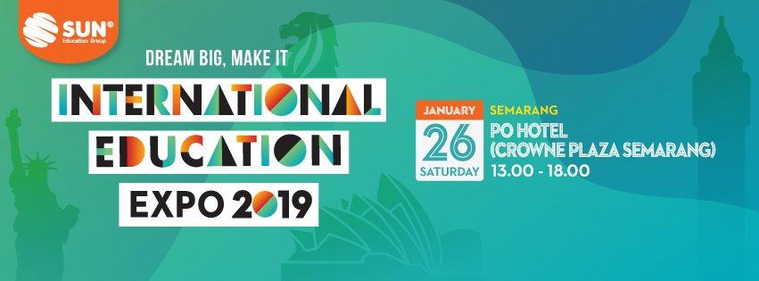 International Education Expo Semarang 2019