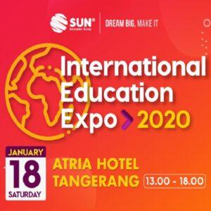 international education expo tangerang 2020