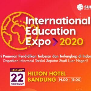 international education expo bandung 2020