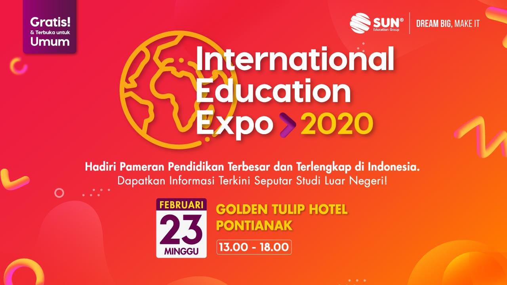international education expo pontianak
