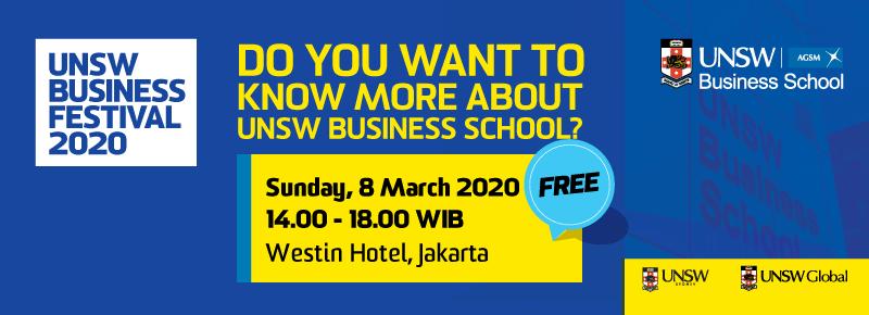 UNSW Jakarta 2020