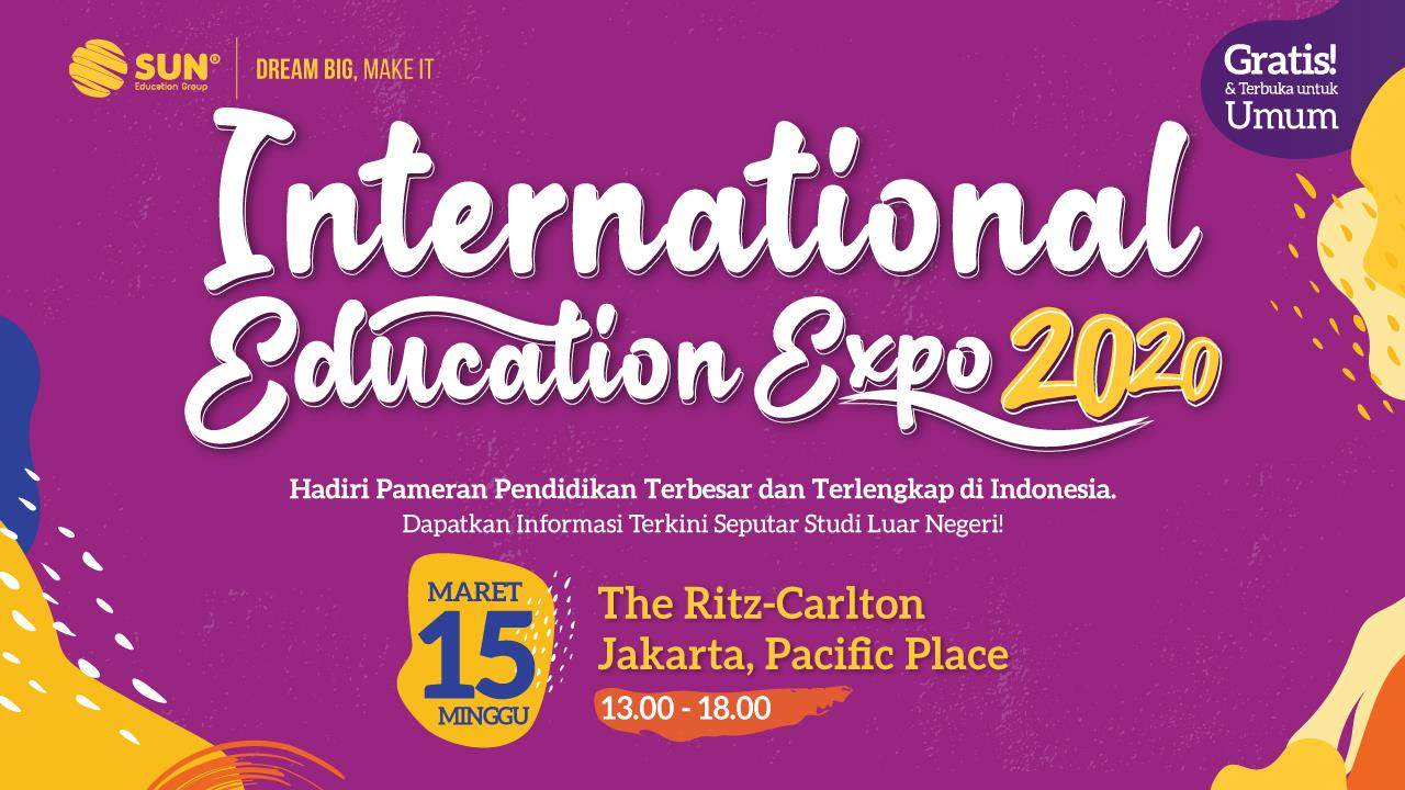 international education expo jakarta ritz