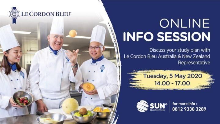 Le Cordon Blue Online Info Session