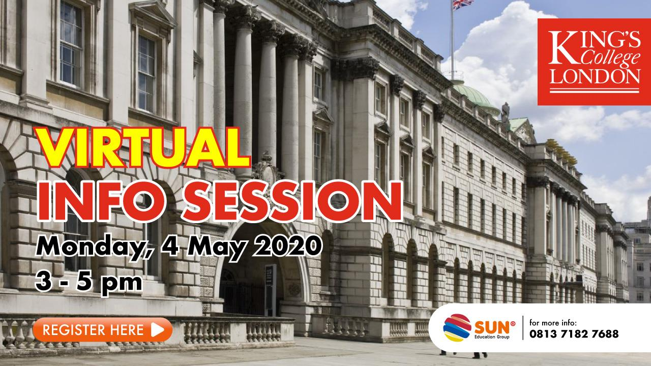 Kings College London Virtual Info Session