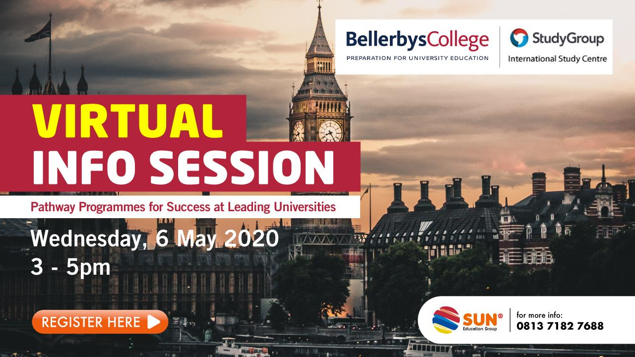 Bellerbys College & Study Group Virtual Info Session