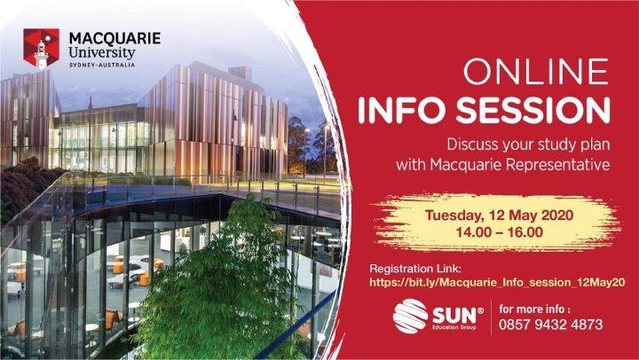 Macquarie University Online Info Session