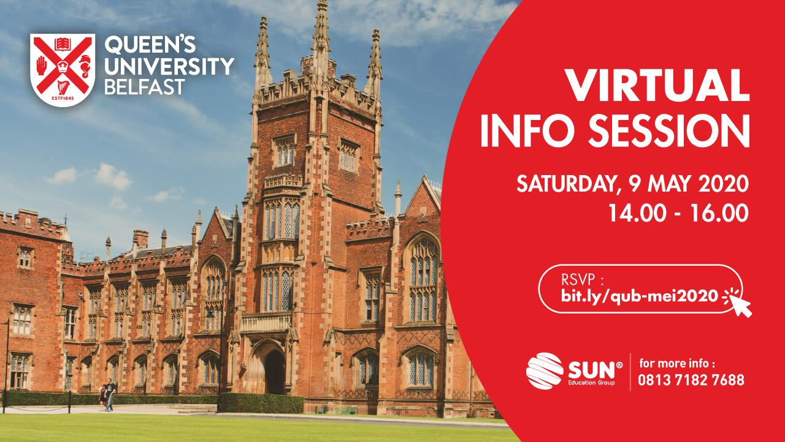 Queen's University Belfast Virtual Info Session