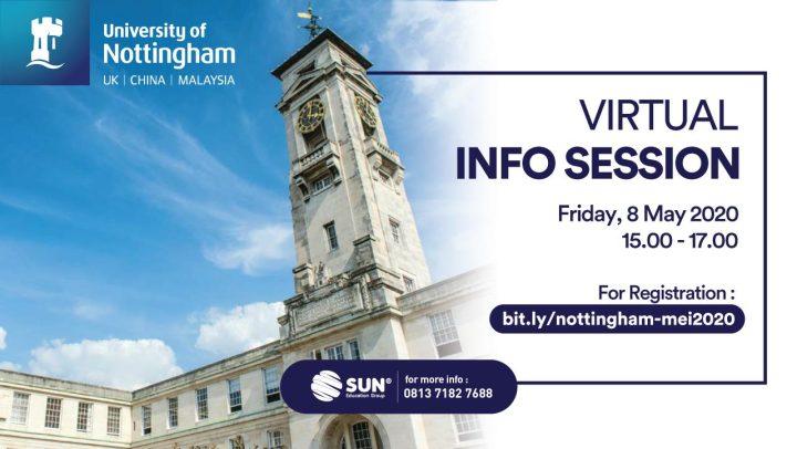 University of Nottingham Virtual Info Session