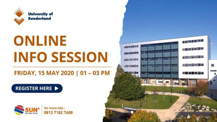 university of sunderland online info session