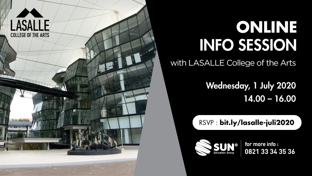 Lasalle College of The Art Online Info Session
