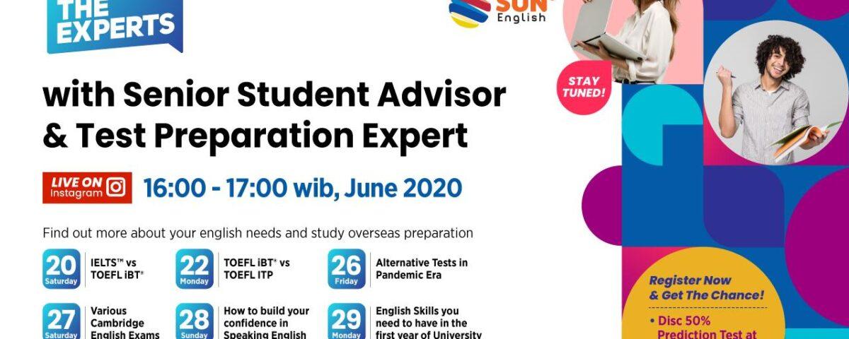 Meet The Experts With Senior Student Advisor & Test Preparation Expert