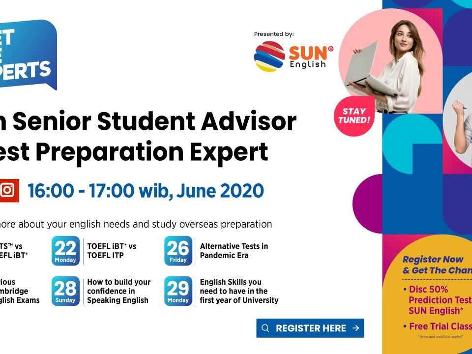 Meet The Experts With Senior Student Advisor & Test Preparation Expert